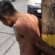 Intenta robarse un celular y lo desnudan