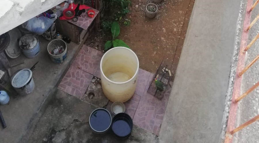 Matías Romero cumple 10 días sin agua
