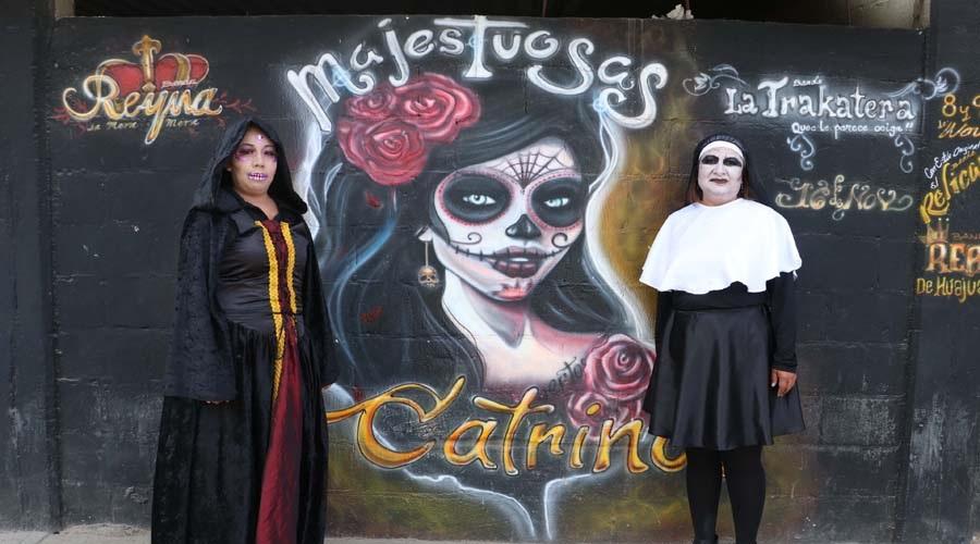 """Toca el turno a las """"Catrinas  Majestuosas""""; se aproxima muerteada de mujeres"""