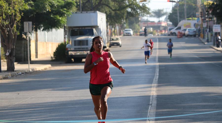 Corren en Santa Lucía