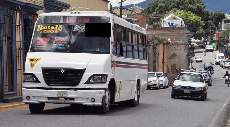 Fracaso y desorden, condena del transporte