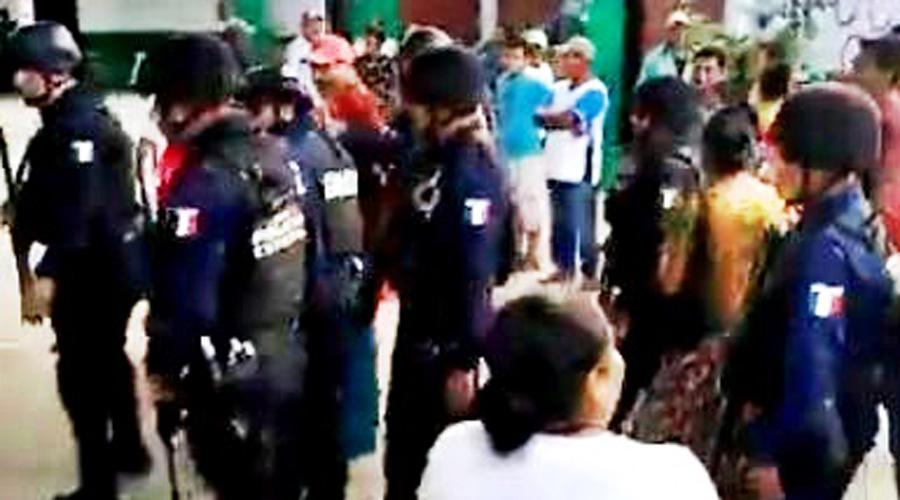 Confrontación en Santa María Xadani