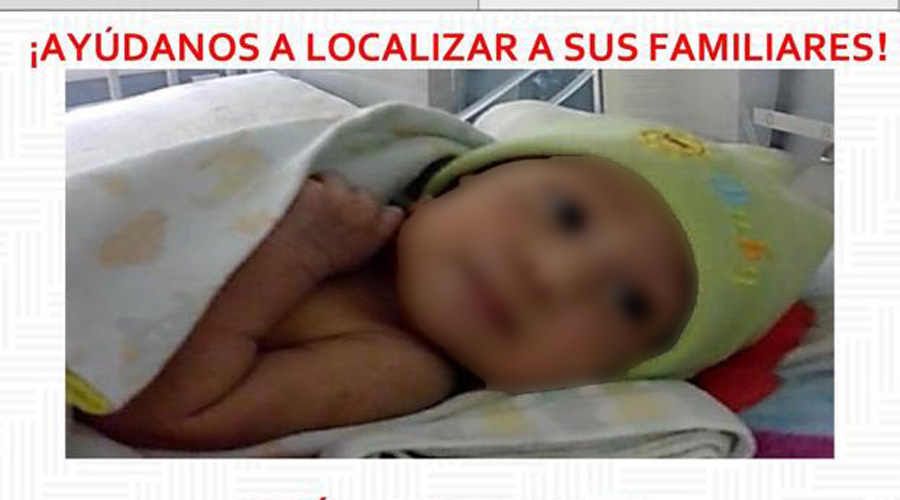 Buscan a familiares de una hermosa bebé | El Imparcial de Oaxaca