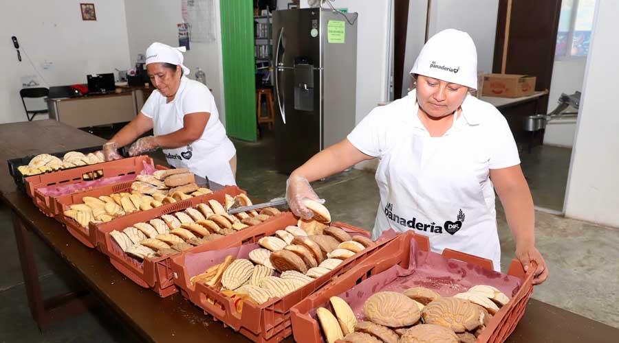 Panadería del DIF, respiro para la economía familiar