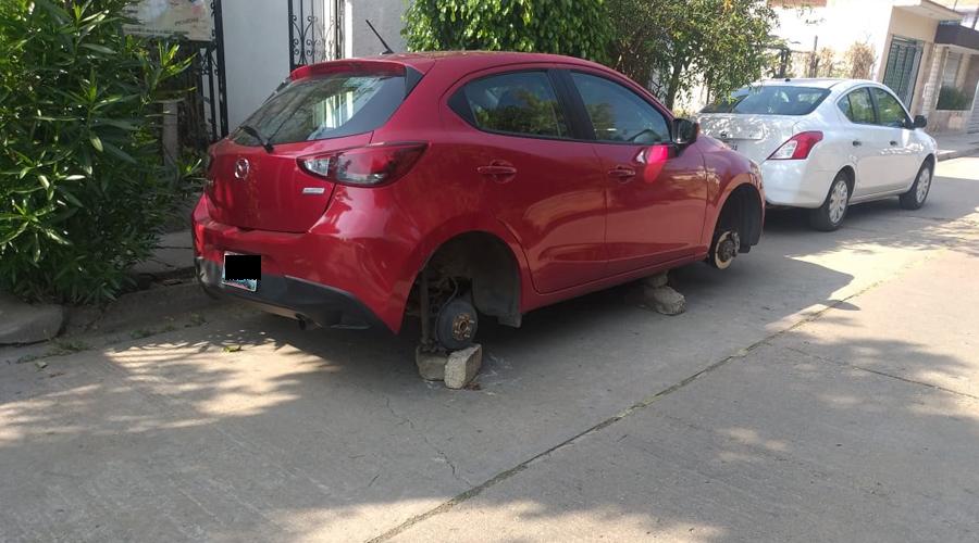 Operan con impunidad ladrones de autopartes