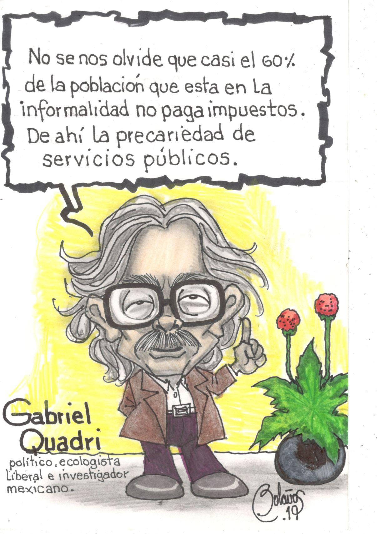 Gabriel Quadri | El Imparcial de Oaxaca