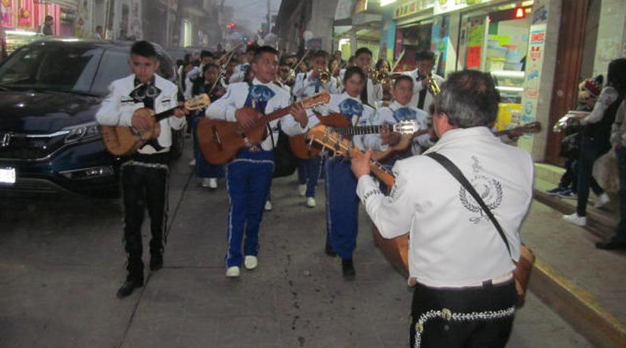 Músicos huautlecos ofrecieron concierto