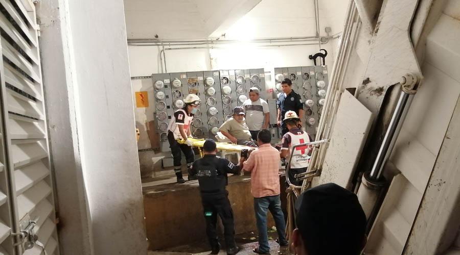 Le aplastan la pierna   El Imparcial de Oaxaca