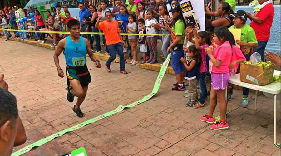 Manuel Santiago quiere ser el mejor corredor