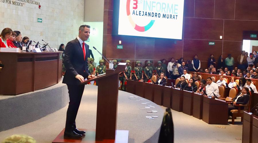 Vamos en la ruta correcta: Murat   El Imparcial de Oaxaca