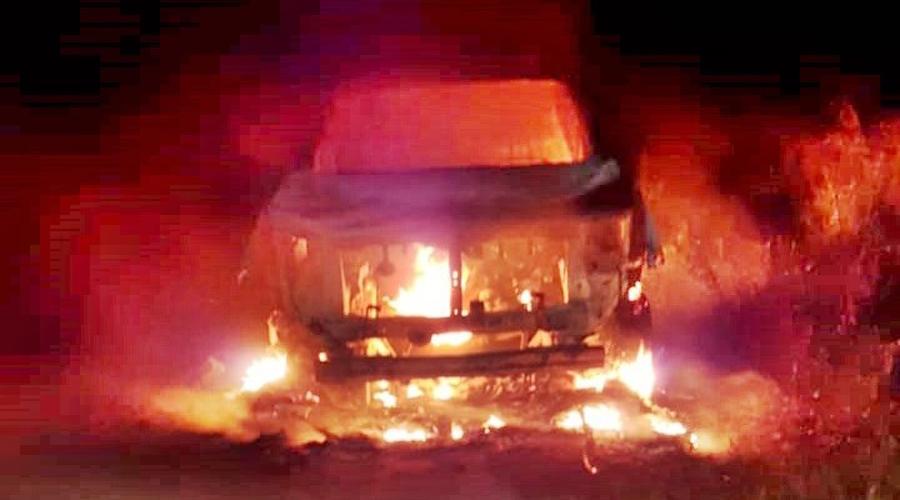 Pescadores incendian patrulla municipal | El Imparcial de Oaxaca