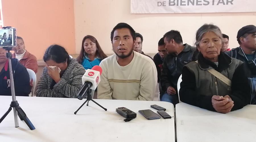 Pide autoridad frenar fuego cruzado en Atatlahuca