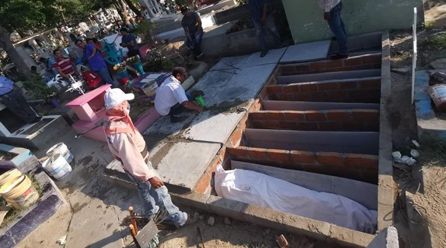 A la fosa común, veinte cadáveres no identificados