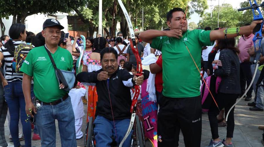 Desfilaron en Xoxocotlán