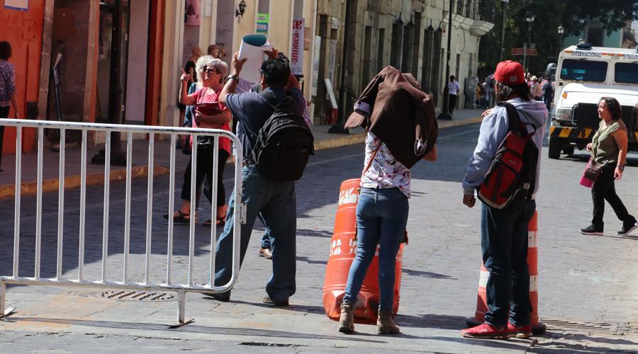 Marchas y bloqueos en la capital | El Imparcial de Oaxaca