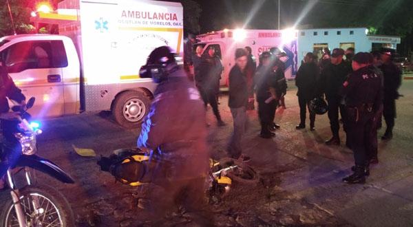 Derrapa motociclista en Ocotlán de Morelos | El Imparcial de Oaxaca