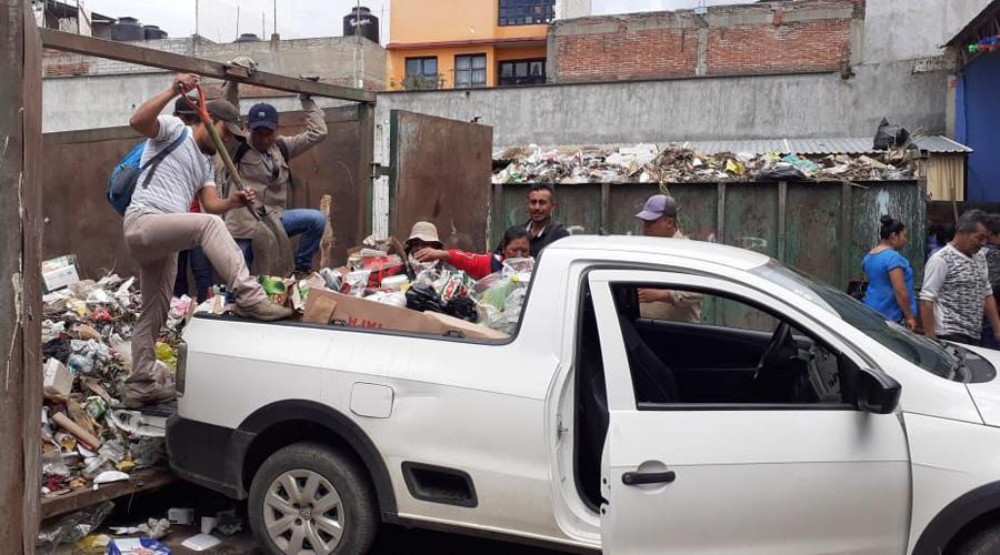 Festividad deja más de 100 toneladas de basura