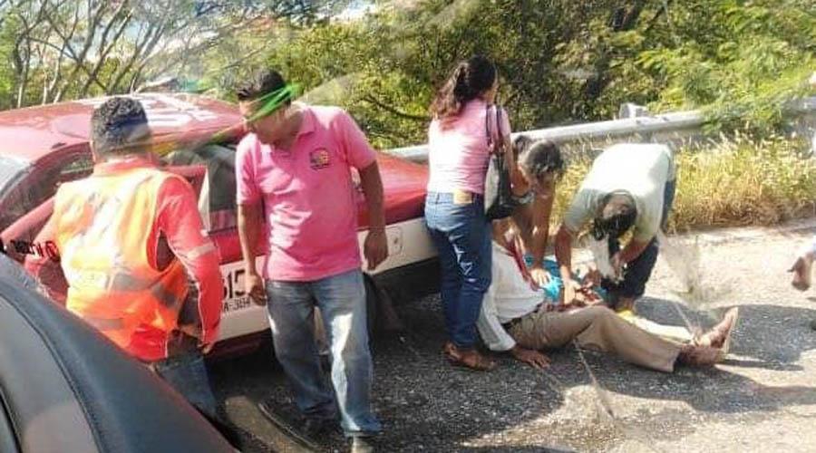 Colisión frontal deja seis heridos | El Imparcial de Oaxaca