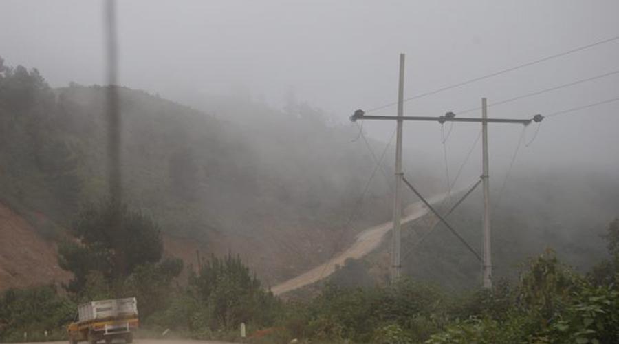 Frente Frío provoca bajas temperaturas en Mixteca y Sierra Norte