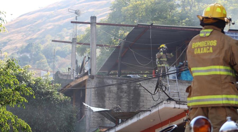 Explosión en San Martín Mexicápam