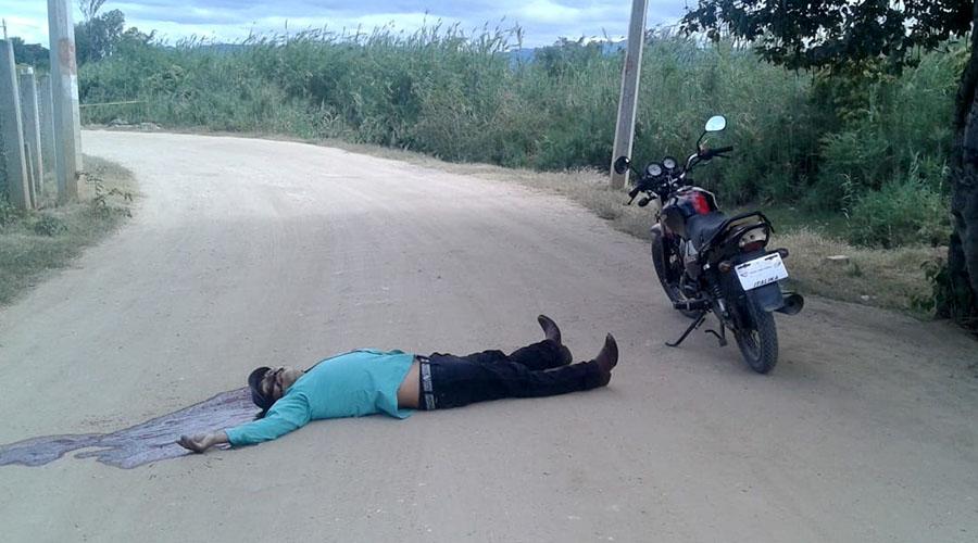 ¡Le meten plomo a hombre en Miahuatlán! | El Imparcial de Oaxaca