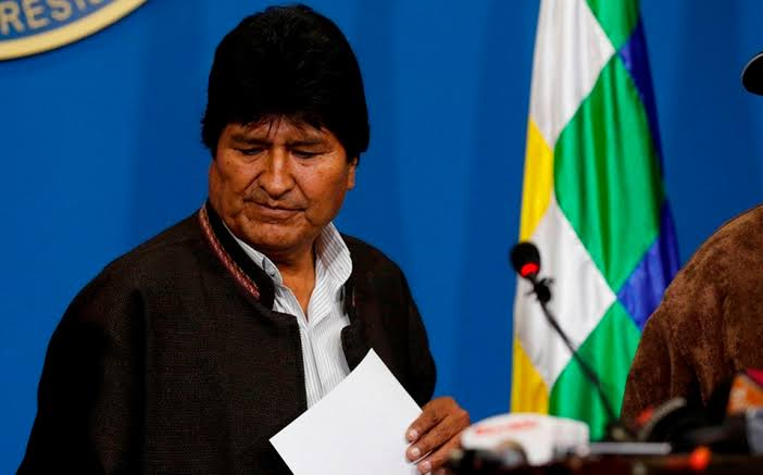 Renuncia Evo Morales a la presidencia de Bolivia; acusa golpe de Estado | El Imparcial de Oaxaca