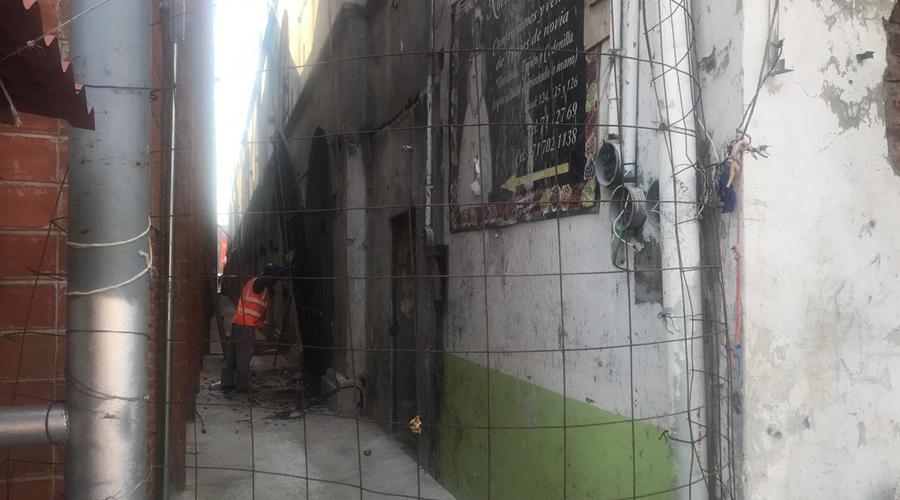 Colocarán protección alrededor del palacio de Juchitán