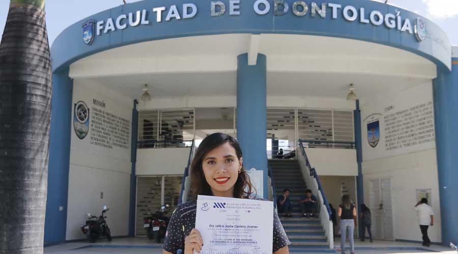 Leticia Centeno Jiménez, estudiante de la UABJO gana en concurso nacional de la AMOP | El Imparcial de Oaxaca