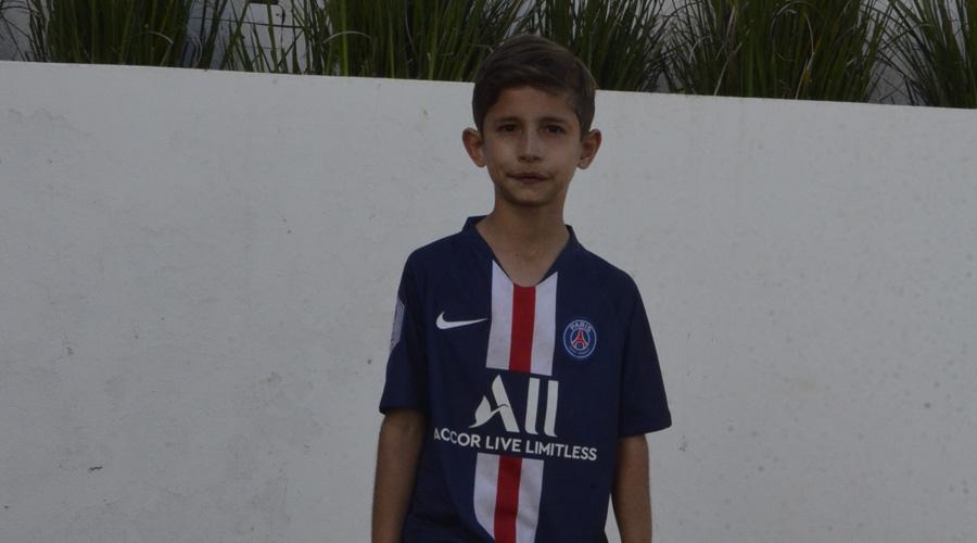 Gabriel cumple nueve años