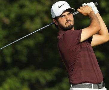 Mexicano, Abraham Ancer, brilla en la copa de golf Presidentes
