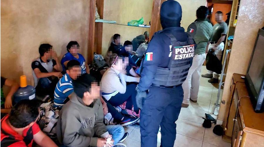 Localizan casa de seguridad con al menos 21 migrantes en Tamaulipas | El Imparcial de Oaxaca