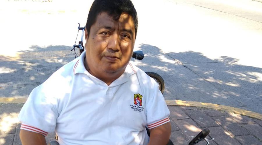 Protestan en Día Internacional de Personas con Discapacidad