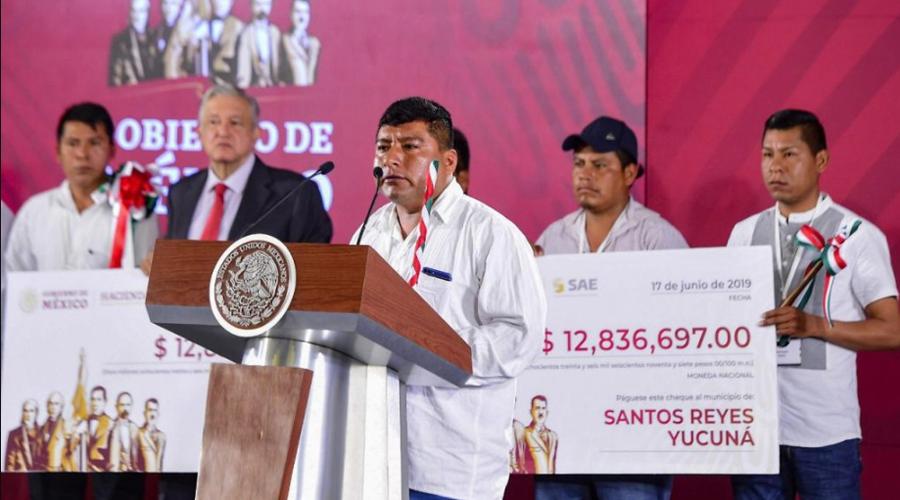 Alcalde de Yucuná construye escuela y una carretera con recursos de subastas   El Imparcial de Oaxaca