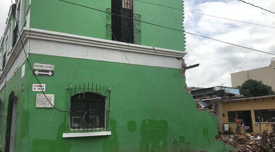 Planean reconstruir la casa del General Charis