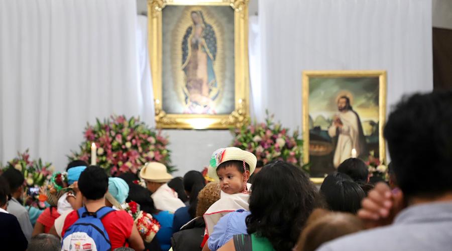Refrendan su fe con la Virgen del Tepeyac