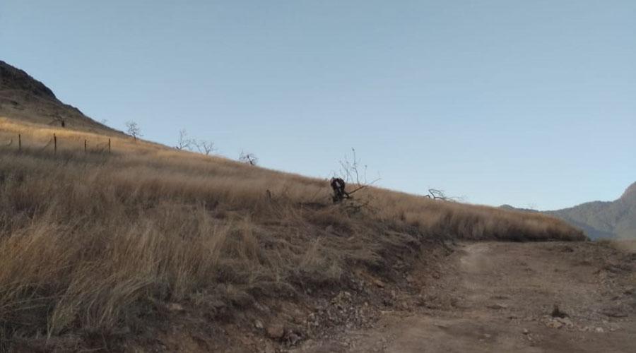 Consuman invasión en el Cerro del Crestón