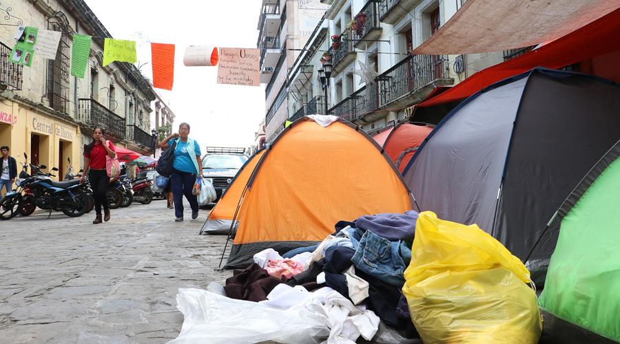 Comerciantes exigen liberar vialidades del Centro Histórico