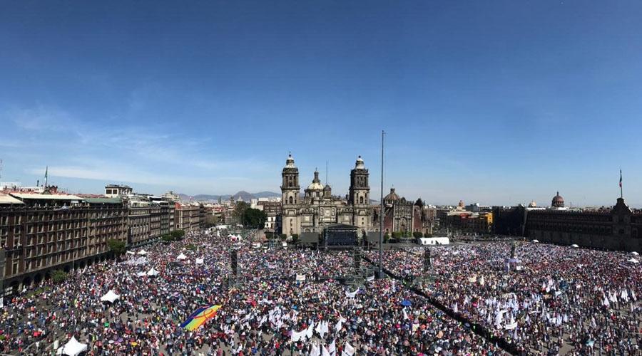 Acuden 250 mil personas al primer año de gobierno de López Obrador | El Imparcial de Oaxaca