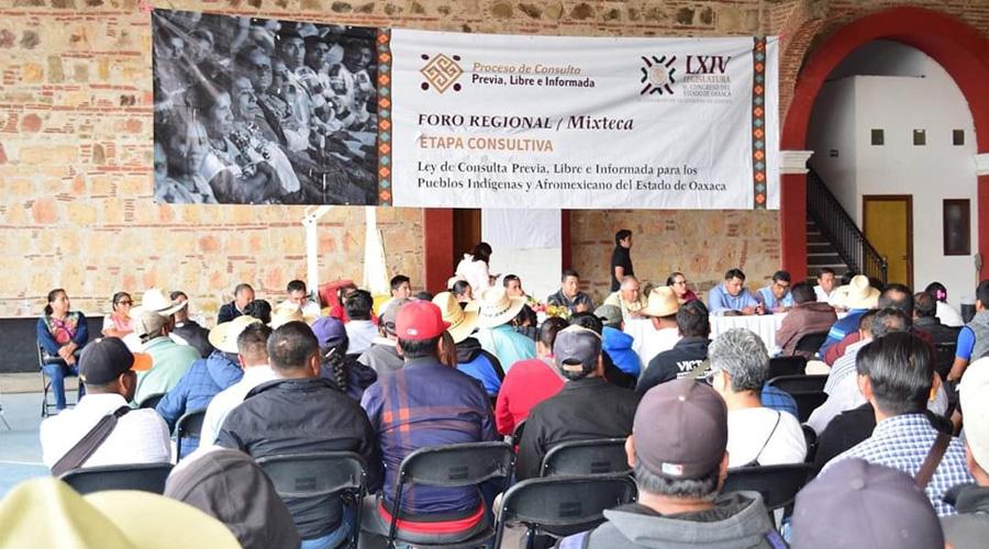 Realizan consulta a pueblos originarios | El Imparcial de Oaxaca