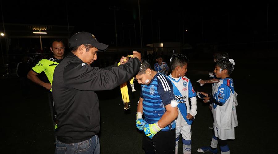 Puebla FC, campeón infantil