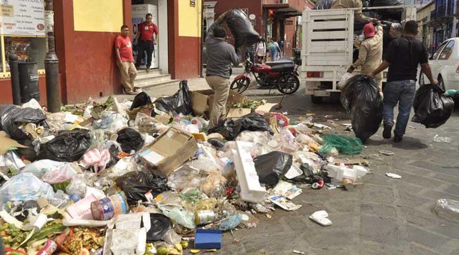 Presentan nulos avances en separación de basura