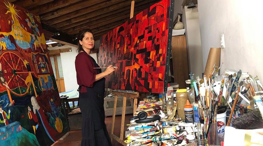 Ivonne Kennedy expone La ciudades Invisibles en la embajada de México en los Países Bajos