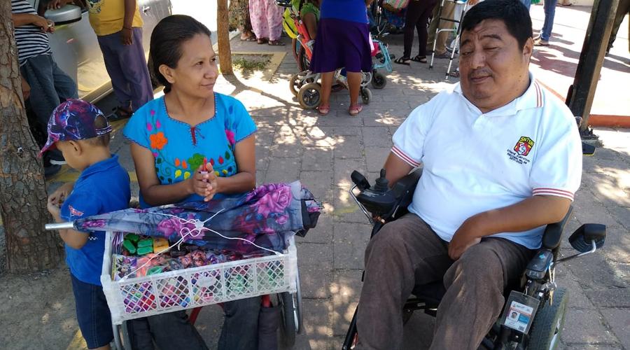 Promueven taller para uso de sillas de ruedas | El Imparcial de Oaxaca