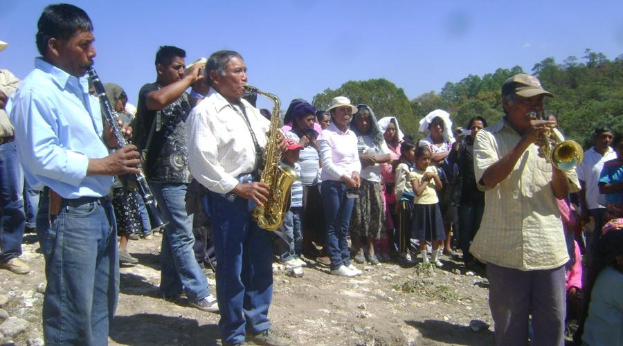 Resurge música de viento en localidades de la Mixteca