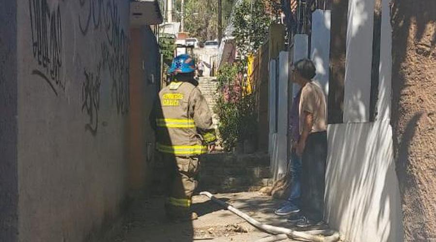 Se incendia bodega de madera en el ISSSTE | El Imparcial de Oaxaca