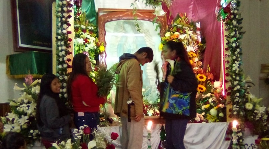 Virgen de Guadalupe, presente en la mente de los mazatecos | El Imparcial de Oaxaca