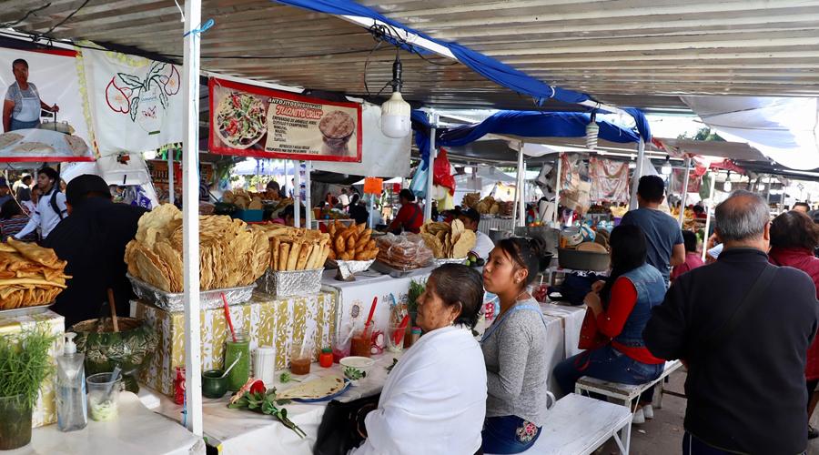 Por festividades recorrerán tianguistas el Centro Histórico