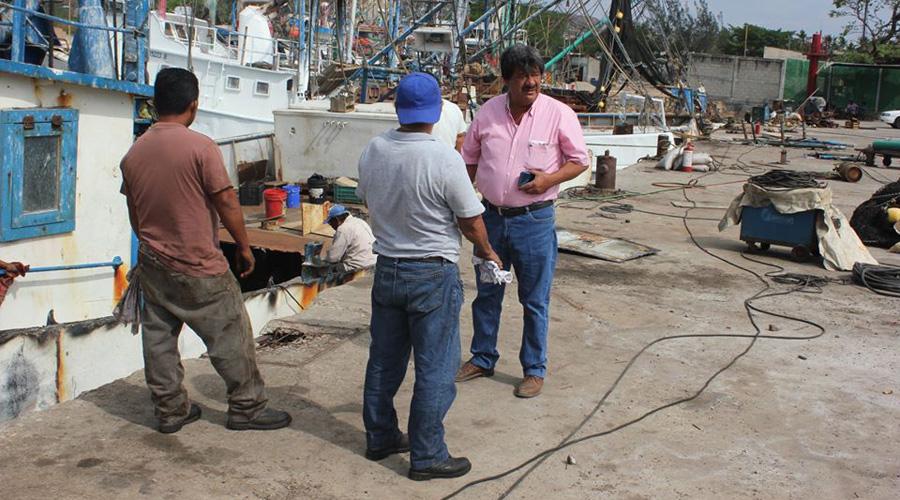 Pescadores cierran el año con grave crisis