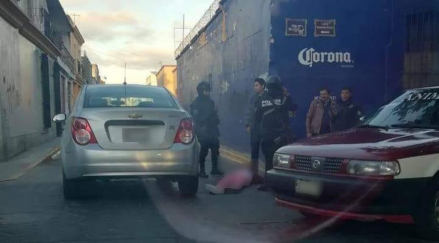 Atropellan a mujer en el centro | El Imparcial de Oaxaca