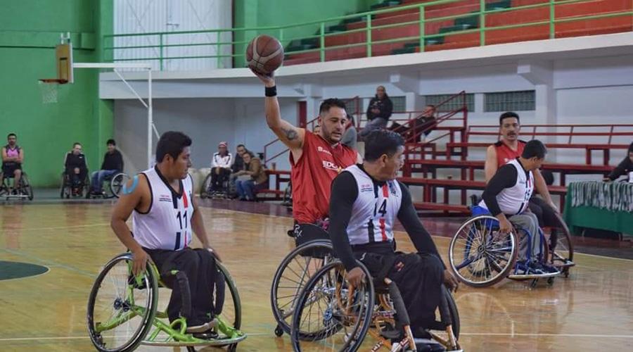 Subcampeones nacionales de básquetbol sobre silla de ruedas